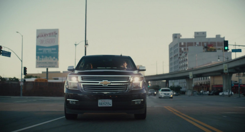 Chevrolet Suburban Car in The Tax Collector (2)