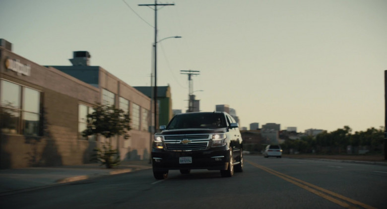 Chevrolet Suburban Car in The Tax Collector (3)