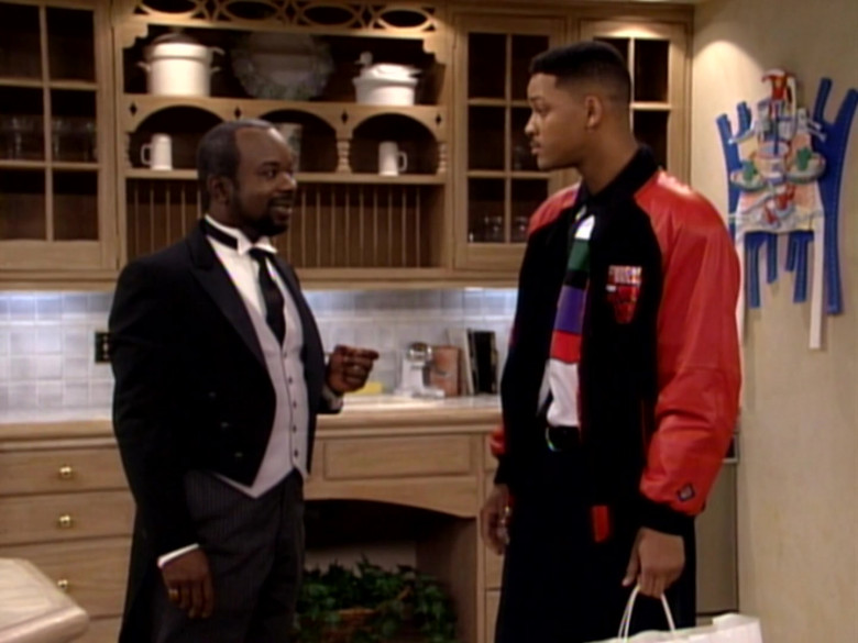 Chicago Bulls Bomber Jacket Outfit Worn by Will Smith (1)