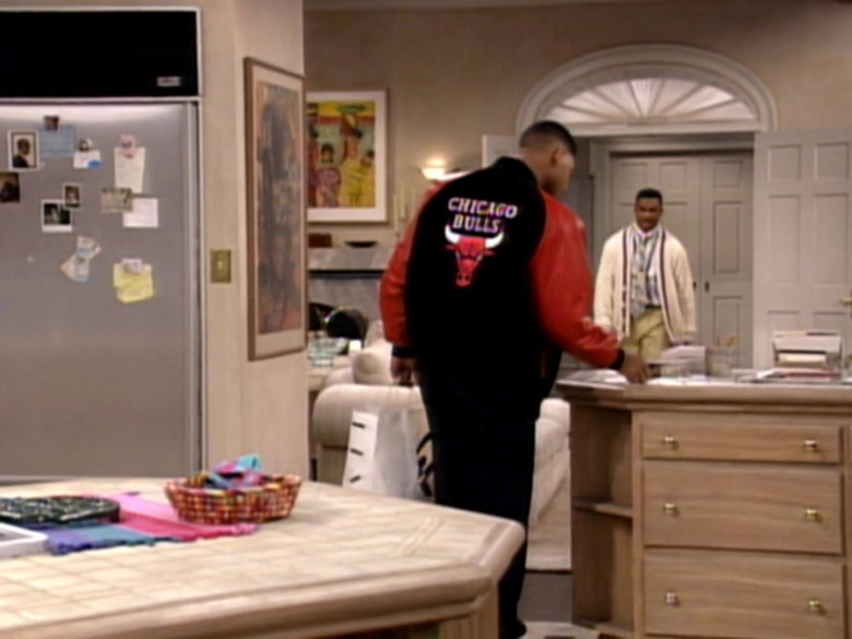 Chicago Bulls Bomber Jacket Outfit Worn by Will Smith (3)