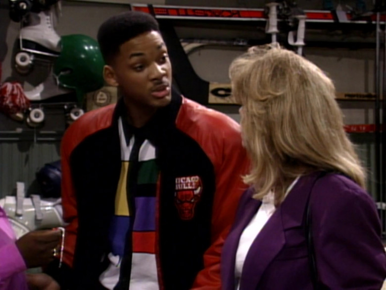Chicago Bulls Bomber Jacket Outfit Worn by Will Smith (4)