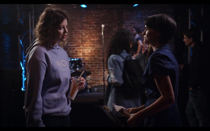 Chloë Levine as Jillian Helds McDonald's Drink Cup in Trinkets Season 2 TV Show by Netflix