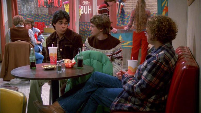 Coca-Cola Soda of Wilmer Valderrama as Fez in That '70s Show S02E09