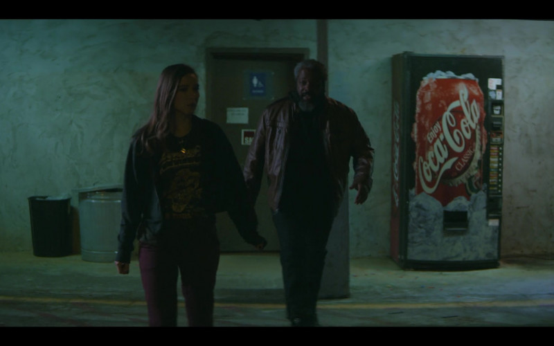 Coca-Cola Vending Machine in Teenage Bounty Hunters Season 1 Episode 10 TV Show