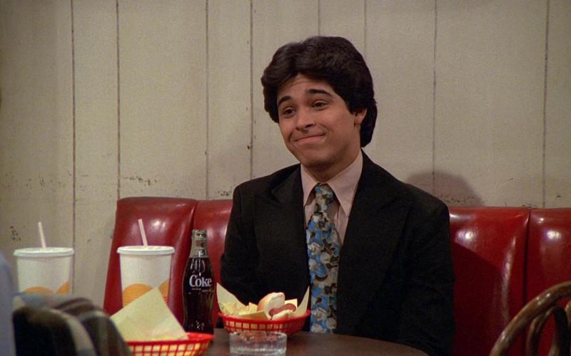 Coke Soda Bottle of Wilmer Valderrama as Fez in That '70s Show S02E23