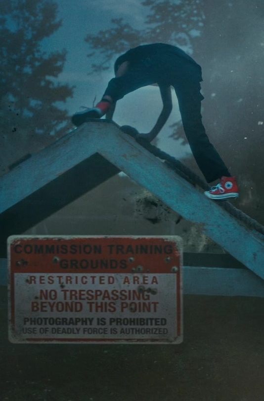 Converse Red High Top Shoes Worn by Actress in The Umbrella Academy S02E04