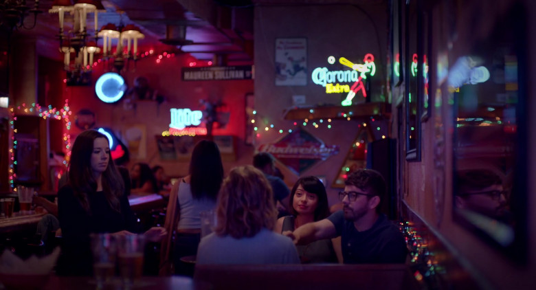 Corona Extra Beer Neon Sign in I Used to Go Here (2020)