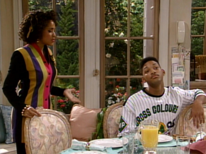 Cross Colours T-Shirt Worn by Will Smith in The Fresh Prince of Bel-Air S02E05 (2)