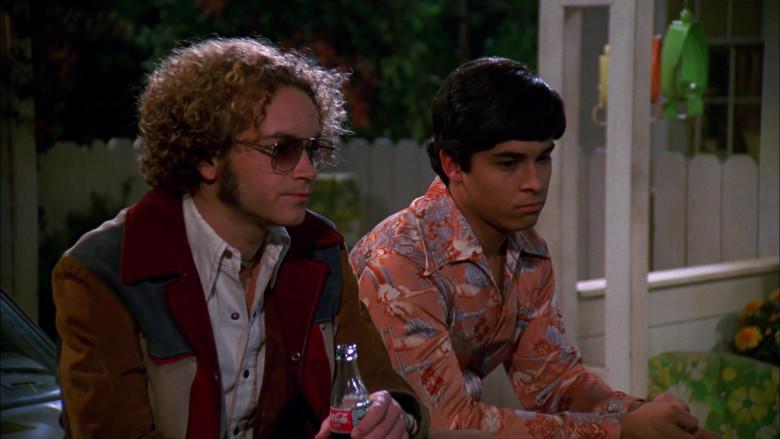 Danny Masterson as Steven Hyde Enjoying Coca-Cola Soda Drink in That '70s Show S01E07