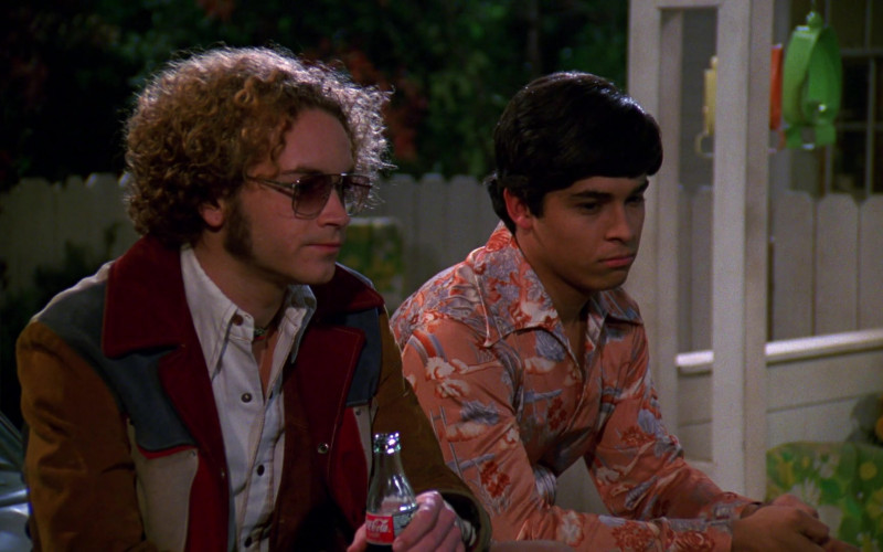Danny Masterson as Steven Hyde Enjoying Coca-Cola Soda Drink in That '70s Show S01E07