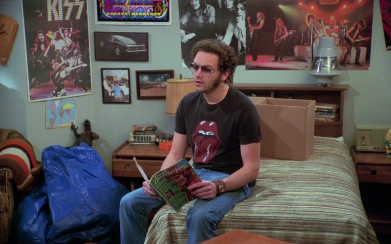 Danny Masterson as Steven Hyde Reads Good Housekeeping Magazine in That '70s Show