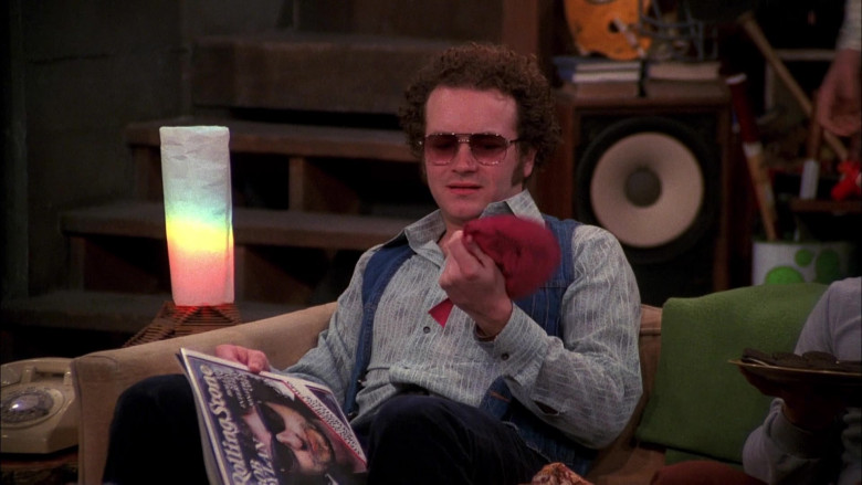 Danny Masterson as Steven Reading Rolling Stone Magazine in That '70s Show Season 4 Episode 21