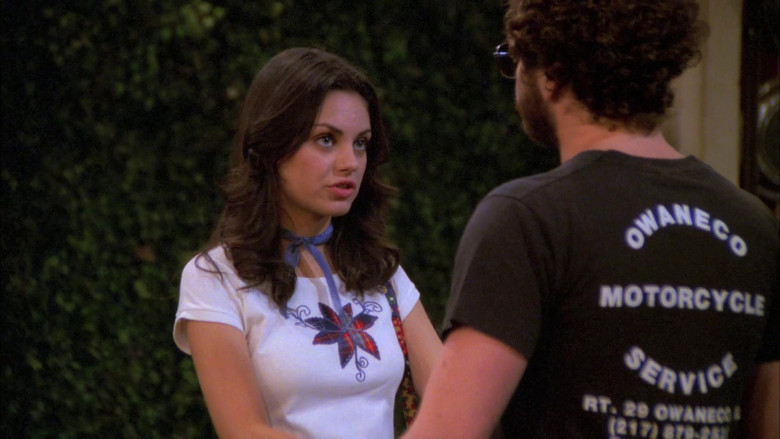 Danny Masterson as Steven Wears Owaneco Motorcycle Service T-Shirt in That '70s Show (4)
