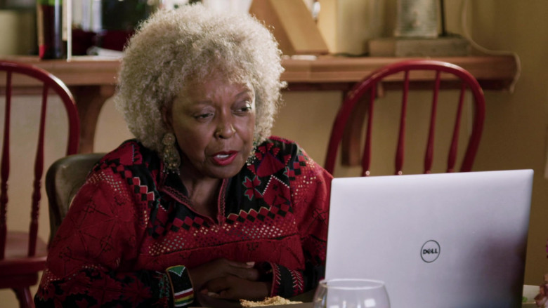 Dell Laptop of L. Scott Caldwell as Nanda in Love in the Time of Corona S01E01 (2)
