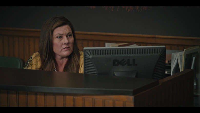 Dell Monitor Used by Actress in Yellowstone S03E10