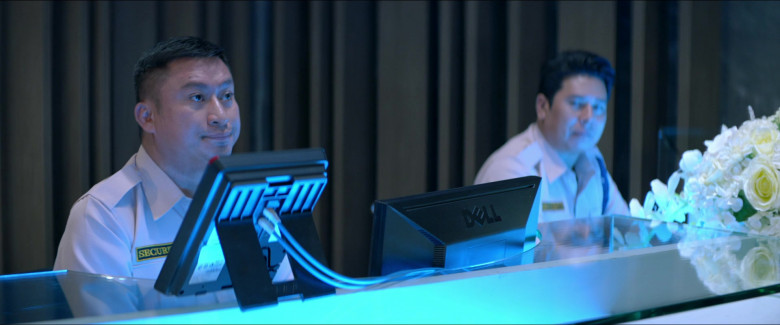 Dell Monitor in One Night in Bangkok Movie (1)