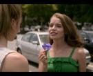 Trojan Condom Held by Devon Hales as April Stevens in Teenag...