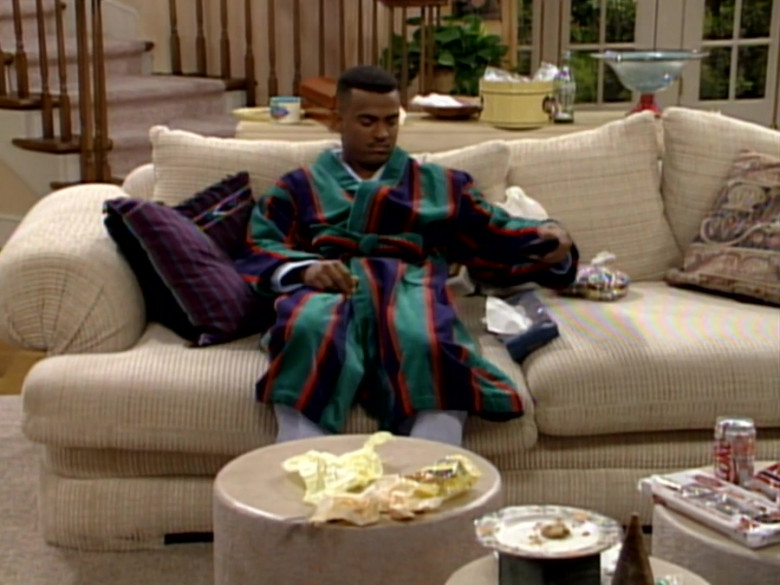 Diet Coke Soda Enjoyed by Alfonso Ribeiro as Carlton Banks in The Fresh Prince of Bel-Air S03E18 (1)