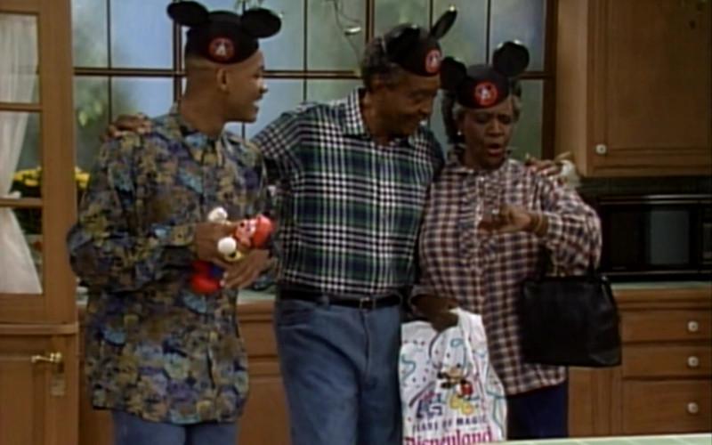 Disneyland Park Plastic Bags in The Fresh Prince of Bel-Air S01E04 (1)