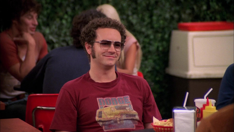 Dodge T-Shirt Worn by Danny Masterson as Steven Hyde in That '70s Show S08E07 (1)