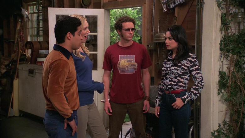 Dodge T-Shirt Worn by Danny Masterson as Steven Hyde in That '70s Show S08E07 (2)