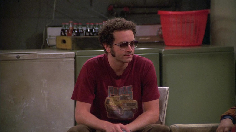 Dodge T-Shirt Worn by Danny Masterson as Steven Hyde in That '70s Show S08E07 (3)