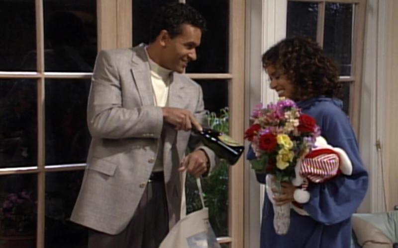 Dom Pérignon Champagne in The Fresh Prince of Bel-Air S03E08