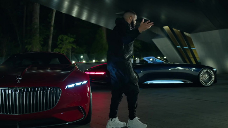 Drake Wears Nike White Sneakers in Laugh Now Cry Later Music Video (2)
