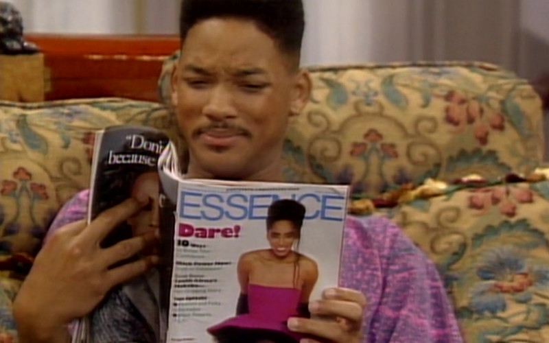 Essence Magazine Held by Will Smith in The Fresh Prince of Bel-Air S01E08 (1)