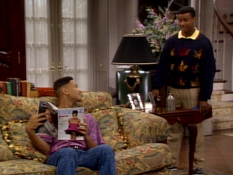 Essence Magazine Held by Will Smith in The Fresh Prince of Bel-Air S01E08 (2)