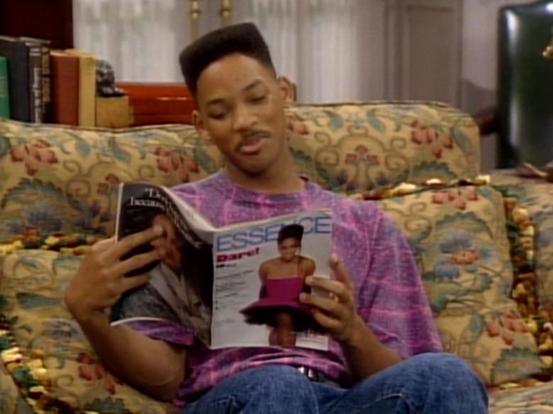 Essence Magazine Held by Will Smith in The Fresh Prince of Bel-Air S01E08 (3)