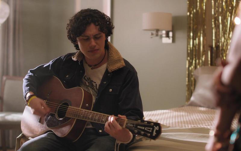 Fender Guitar of Finn Roberts in Room 104 S04E04 TV Show