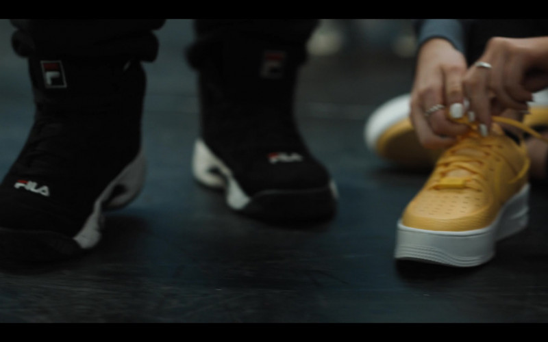 Fila Black Sneakers Worn by Cast Member in Work It (2020)