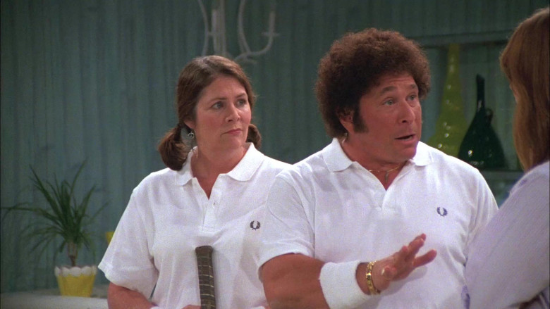 Fred Perry White Polo Shirt Tennis Outfit of Don Stark as Bob Pinciotti in That '70s Show (1)