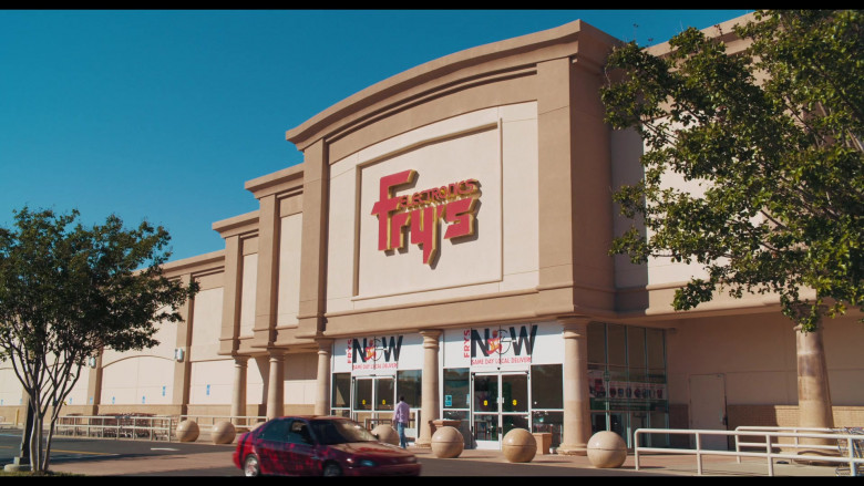 Fry's Electronics Store in The War with Grandpa