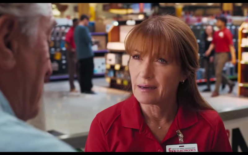 Fry's Electronics Tag of Jane Seymour as Diane in The War with Grandpa (2)