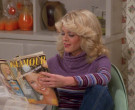 Glamour Magazine Held by Lisa Robin Kelly as Laurie Forman i...