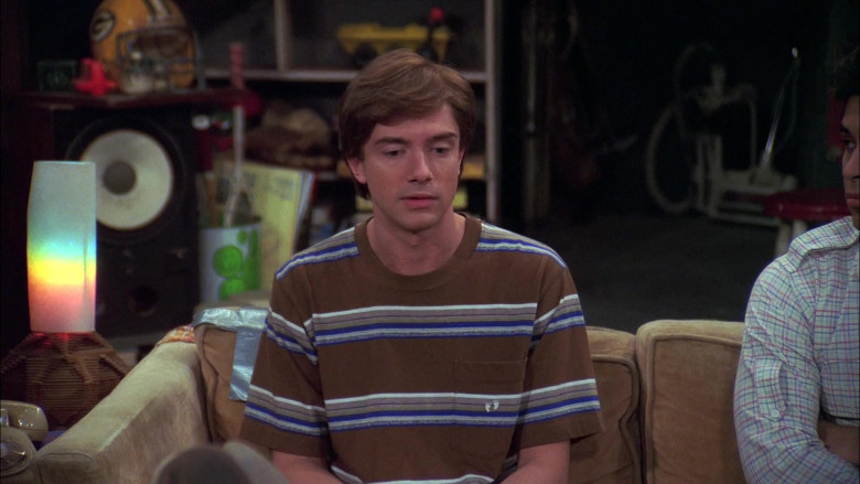 Hang Ten Striped T-Shirt of Topher Grace as Eric Forman in That '70s Show (1)