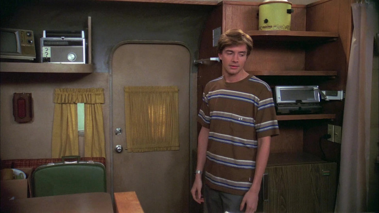 Hang Ten Striped T-Shirt of Topher Grace as Eric Forman in That '70s Show (2)