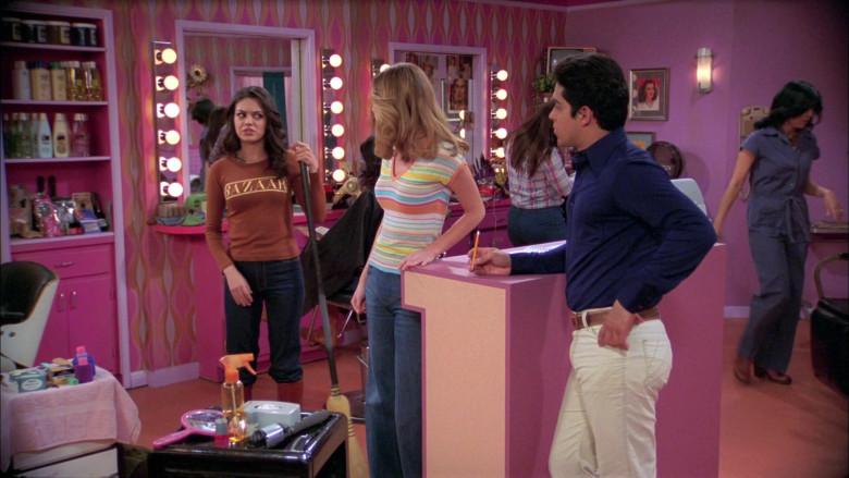 Harper's Bazaar Brown Top Outfit Worn by Mila Kunis as Jackie in That '70s Show (1)