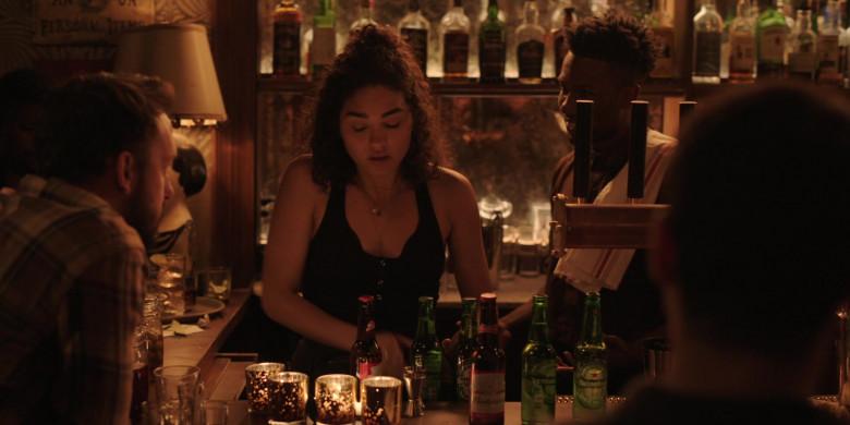 Heineken and Budweiser Beer in Little Voice S01E06