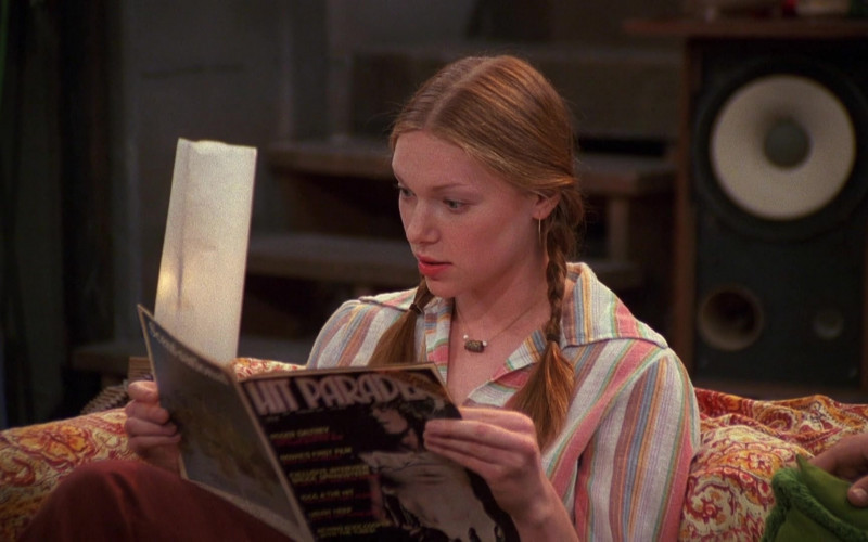 Hit Parader Magazine of Laura Prepon as Donna Pinciotti in That '70s Show (1)