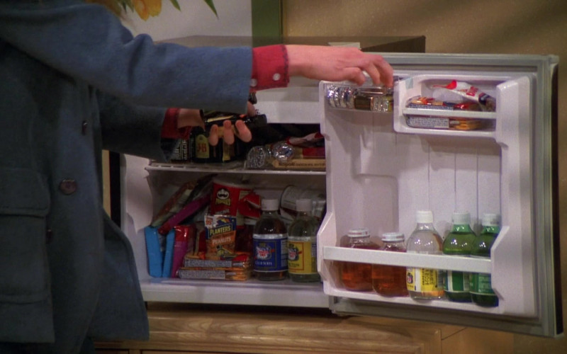 J&B Scotch Whisky, Pringles Chips, Planters Peanuts, Canada Dry Drinks in That '70s Show