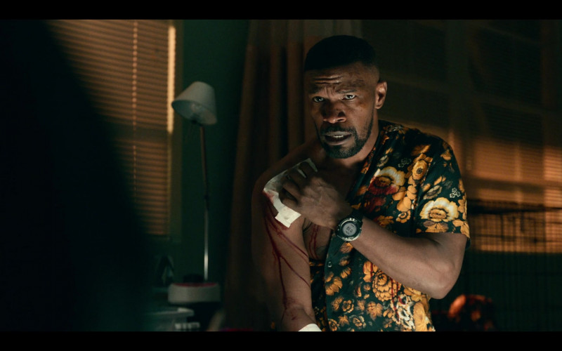 Jamie Foxx Wears Suunto Watch in Project Power