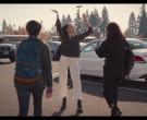 JanSport Backpack of Brianna Hildebrand as Elodie Davis in T...