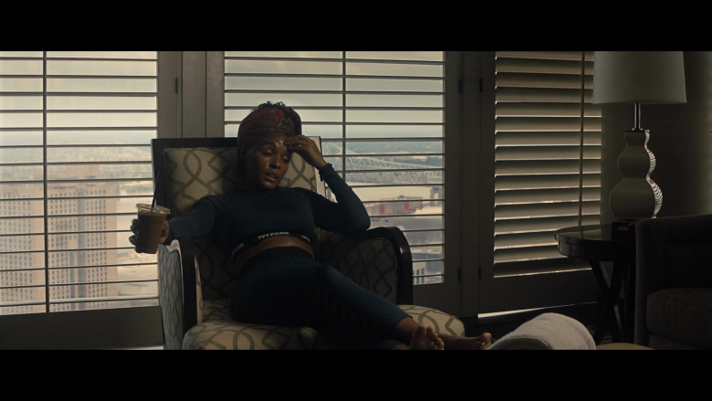 Janelle Monáe Wears Ivy Park Sports Outfit in Antebellum 2020 Film (3)