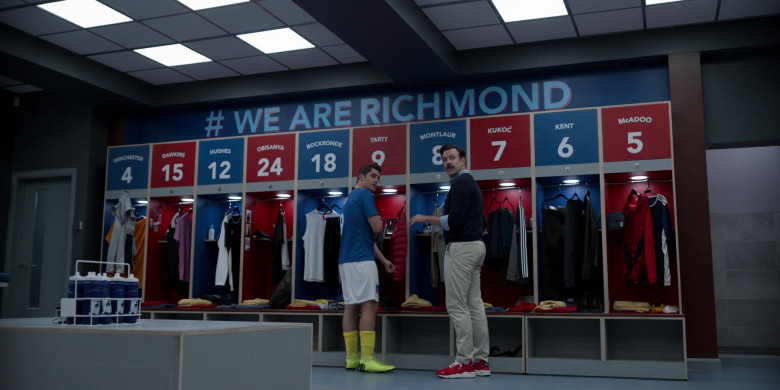 Jason Sudeikis Wears Nike Air Huarache Run Premium Red Sneakers in Ted Lasso Season 1 Episode 5 TV Show (1)