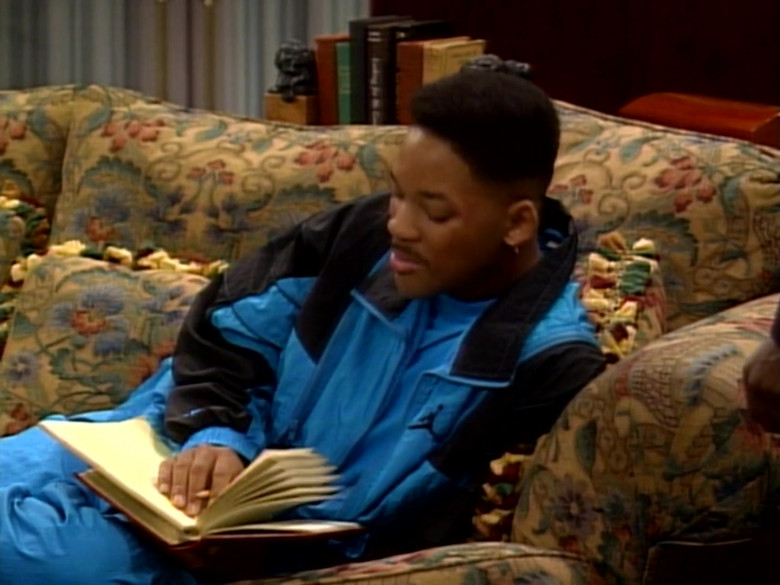 Jordan Blue Tracksuit Outfit of Will Smith in The Fresh Prince of Bel-Air S01E09 TV Show (2)
