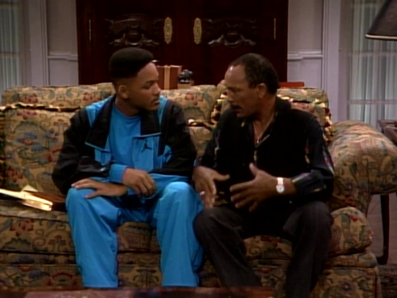 Jordan Blue Tracksuit Outfit of Will Smith in The Fresh Prince of Bel-Air S01E09 TV Show (4)