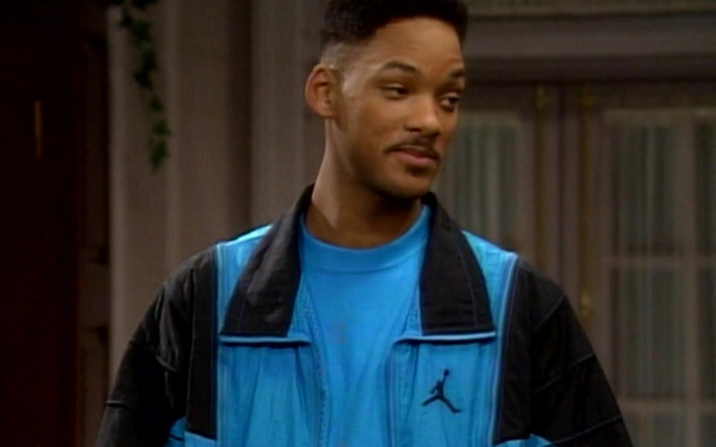 Jordan Blue Tracksuit Outfit of Will Smith in The Fresh Prince of Bel-Air S01E09 TV Show (7)